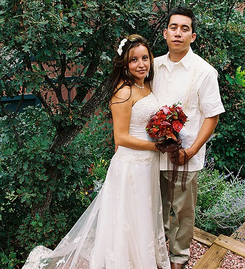 2007 Wedding at Pikes Peak Weddings, Manitou Springs, Colorado