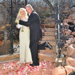 Winter Wedding at Pikes Peak Weddings, Manitou Springs, Colorado