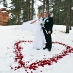 Winter Wedding an Outdoor Pikes Peak Wedding, Manitou Springs, Colorado