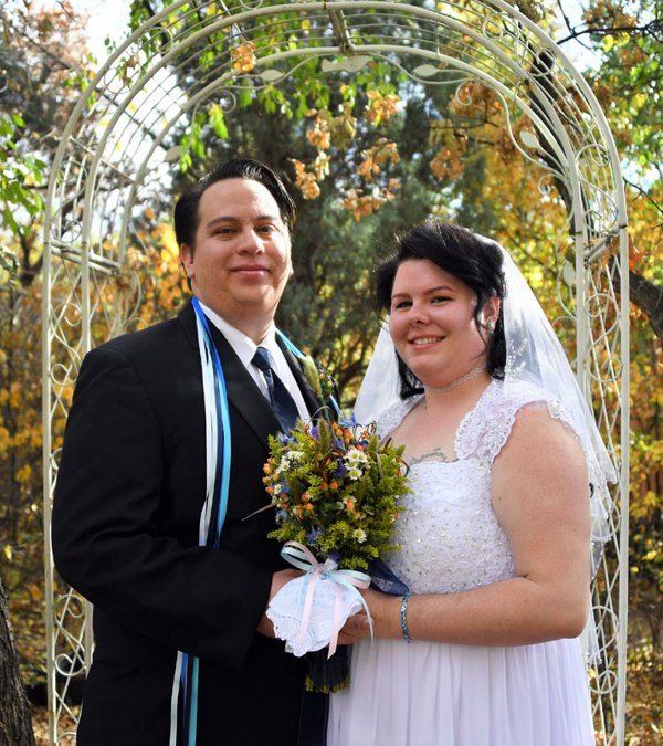 Fall Wedding at Pikes Peak Weddings, Manitou Springs, Colorado