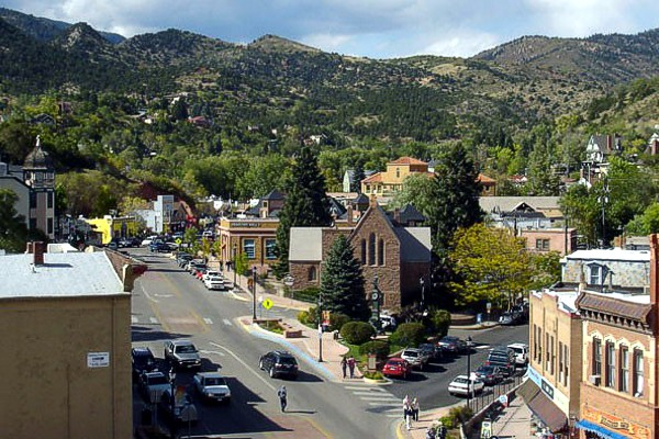 Downtown Manitou Springs, Colorado