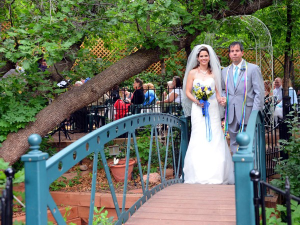 Woodland Garden Wedding at Pikes Peak, Manitou Springs, Colorado